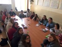 Wizyta wolontariuszy z Aiesec